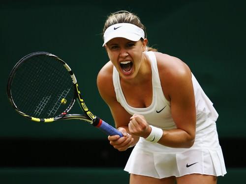 Eugenie Bouchard Wimbledon Tennis Championships