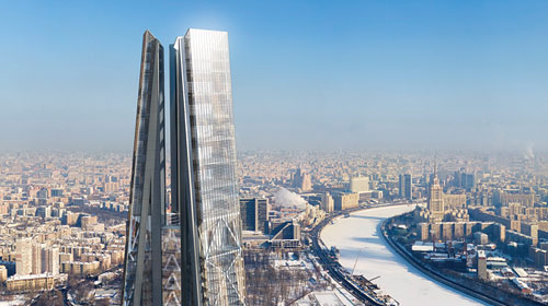 Russia Tower – Moscow Russia