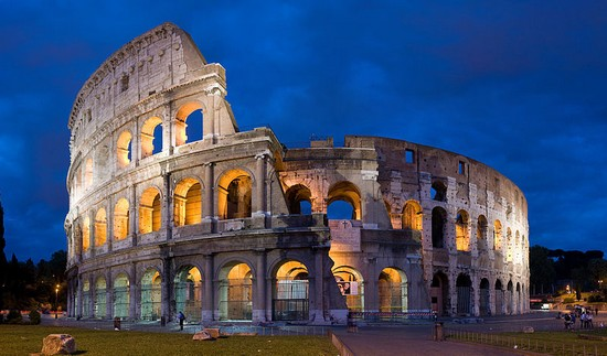 The Flavian Amphitheatre Is An Elliptical In Centre Of City Rome Italy This One Greatest Architecture Ever Built