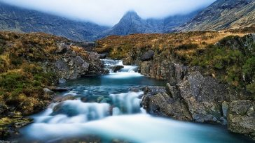 The Fairy Pools on the Isle of Skye - Scotland