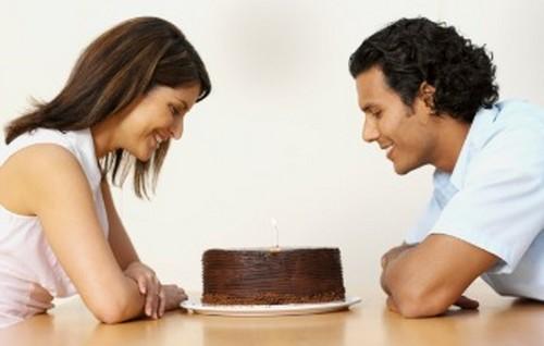 Couple Celebrating Anniversary