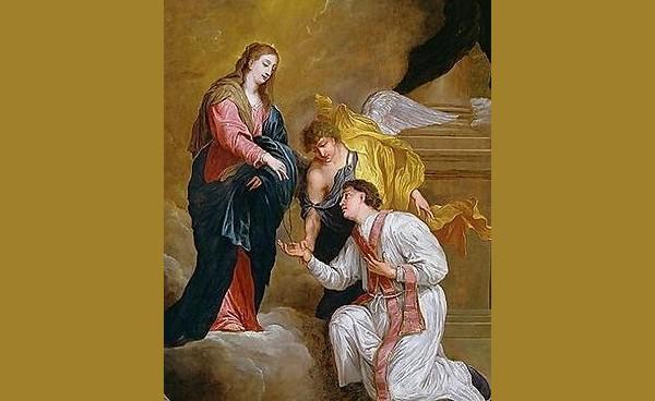 Valentine Kneeling In Supplication