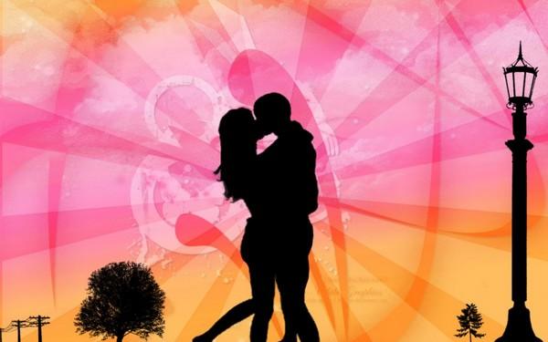 Romance on Valentine Day