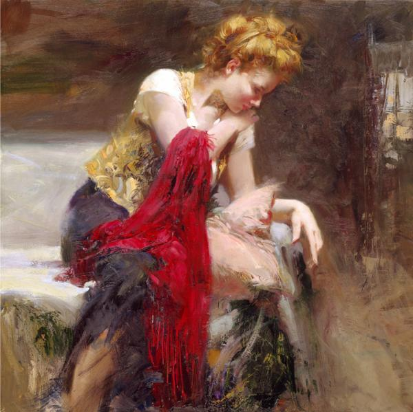 Top 10 Most Beautiful Paintings by Pino Daeni