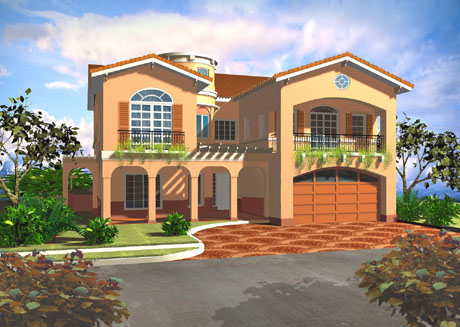 Home exterior designs top 10 modern trends for House plans mediterranean style homes