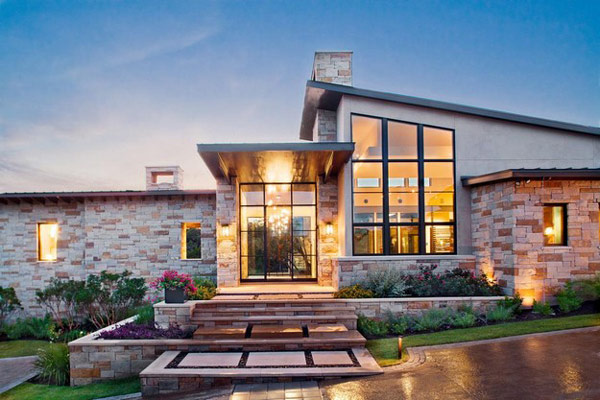 Home exterior designs top 10 modern trends for Best house design usa