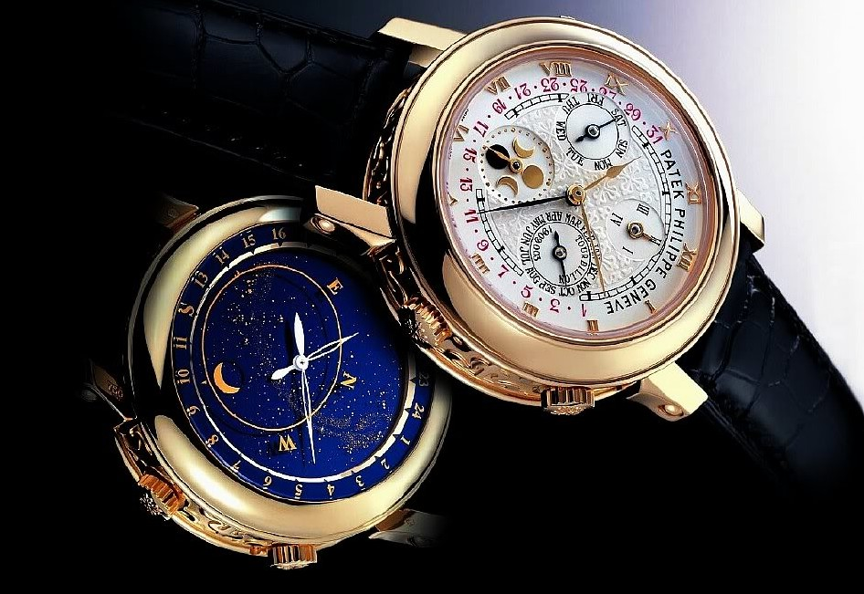 Patek Philippe Sky Moon Tourbillon, $1.3 million.