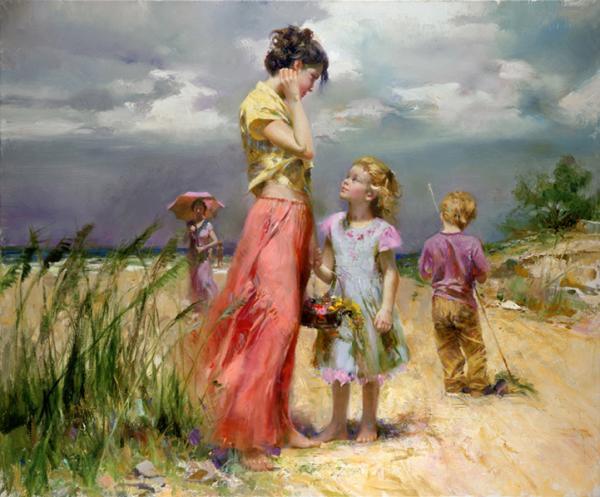 Most Beautiful Paintings by Pino Daeni