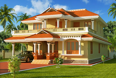 South Indian Style House.