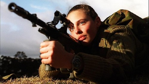 Attractive Female Armed Forces