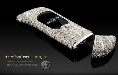 GoldVish Le Million - $1.3 million Expensive Mobile Phones