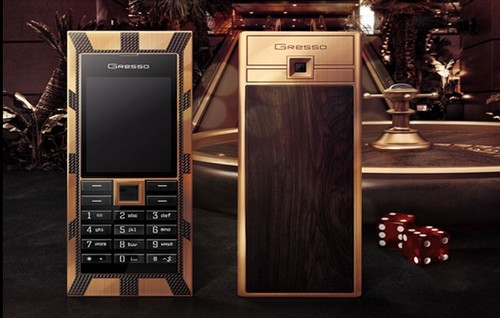 Gresso Luxor Las Vegas Jackpot Expensive Mobile Phones