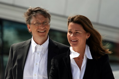 Melinda Gates and Bill Gates