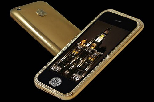 Supreme Goldstriker iPhone 3G 32GB - $3.2 million