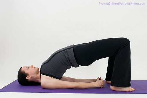 Basic Yoga Bridge Pose