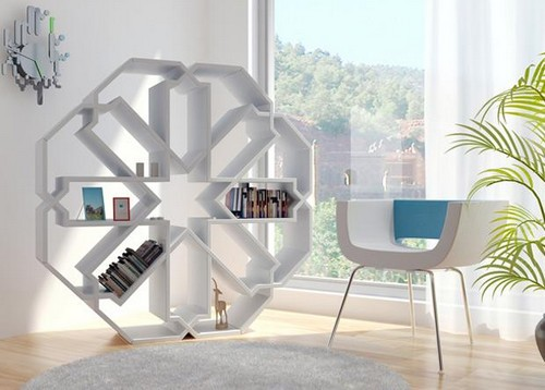 Cool and Unconventional Bookcase Designs