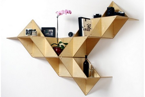 10 Cool and Unconventional Bookcase Designs