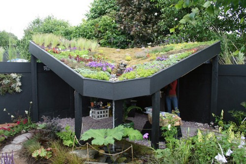 Green Walls, Garden Rooftops