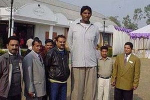 Top 10 Tallest Men