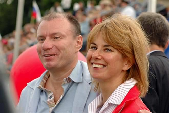 Vladimir Potanin and Natalia Potanina