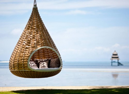 Cocoon hammock in the Philippines