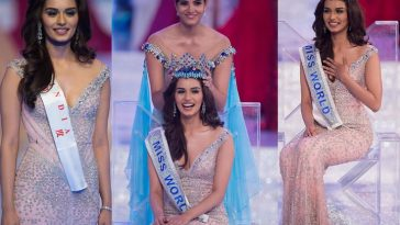 India's Manushi Chhillar Wins Miss World 2017