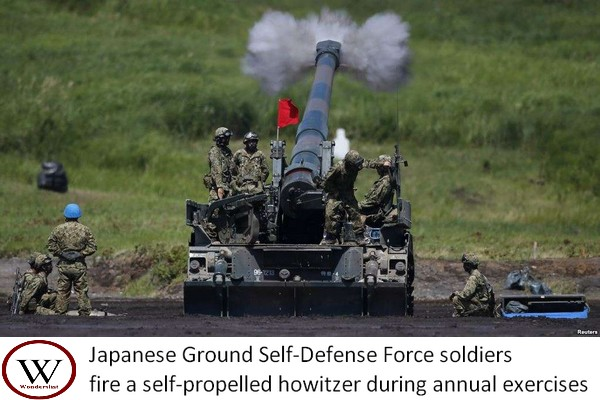 Japanese Ground Self-Defense Force soldiers