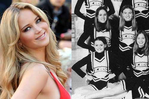 Jennifer Lawrence As A High School Cheer