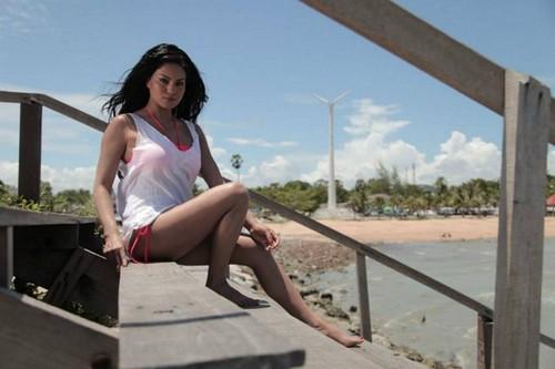veena malik bikini thailand
