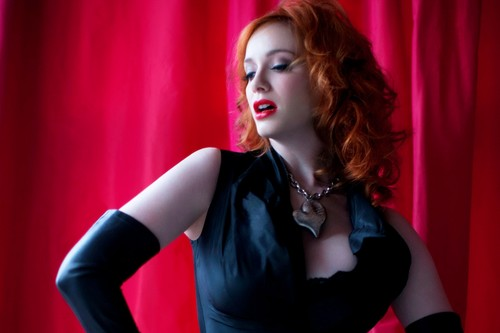 ChristinaHendricks Bigbody