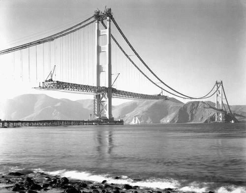 Golden Gate Bridge-Construction