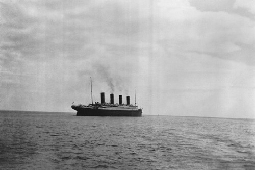 Historical Photographs Titanic