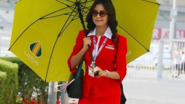 Air Asia sexy Air Hostess