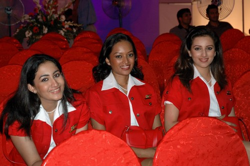 Airasia Air Hostess Air Hostess of Kingfisher