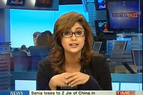 sexy tv reporter