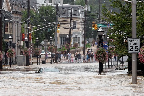 Hurricane Irene Flood