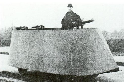 Simms Engine War Car
