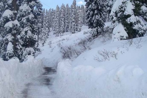 snowfall in kel