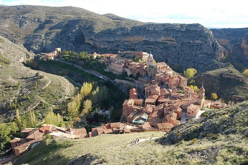 Albarracín village in Spain