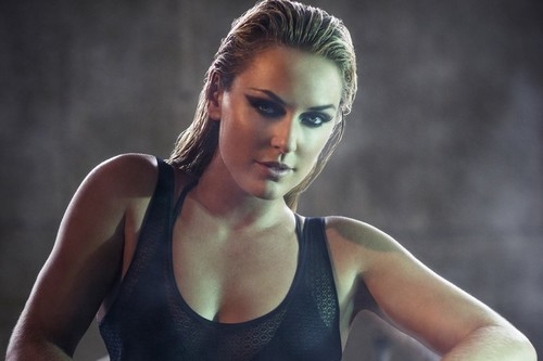 lindsey vonn in the red bulletin