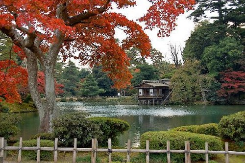 kenroku en garden ishikawa japan - Beautiful Garden Pictures