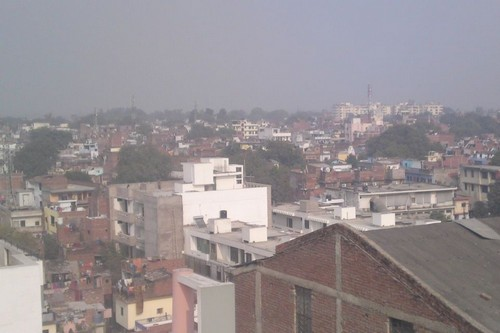 Polluted City of India Kanpur