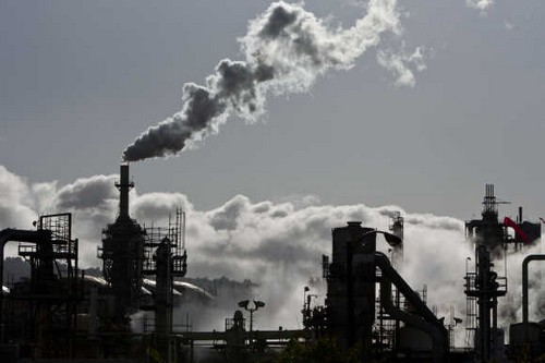Pollution in Ludhiana, India