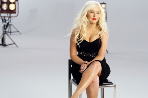 Sexiest Singer Christina Aguilera