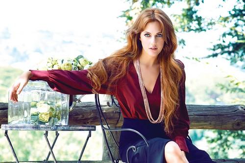 Turkish soap star Meryem Uzerli