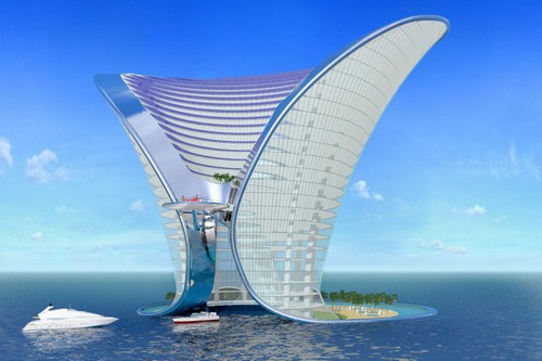Top 10 futuristic concept hotels of the world for Top 10 5 star hotels in dubai