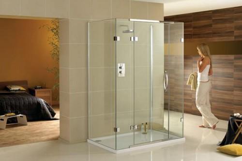 2 frameless glass showers - Designing Ideas