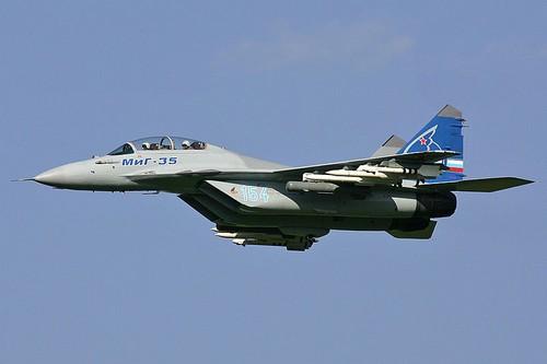 A MiG-35D Flight
