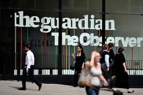 British newspaper The Guardian