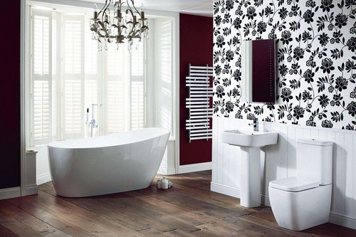Monochrome Bathroom Designing Ideas